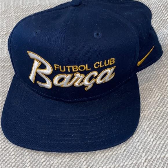 New sample Barcelona FC soccer Nike rare hat